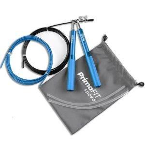 Скоростно въже за скачане - професионално боксьорско въже за скачане синьо