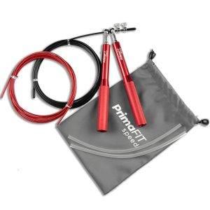 Скоростно въже за скачане - професионално боксьорско въже за скачане червено