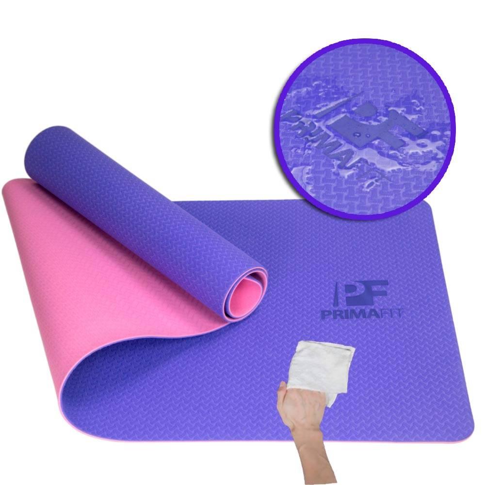 постелки за йога и фитнес упражнения - почистване