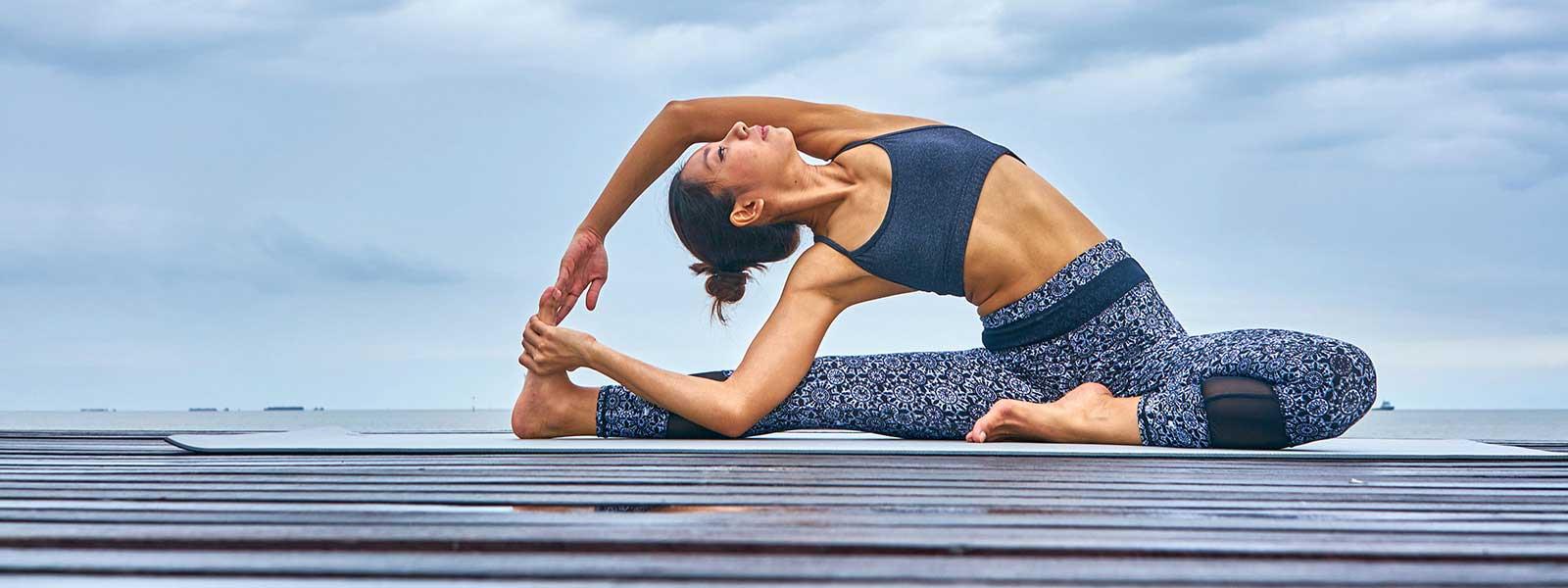 постелки за йога и фитнес упражнения