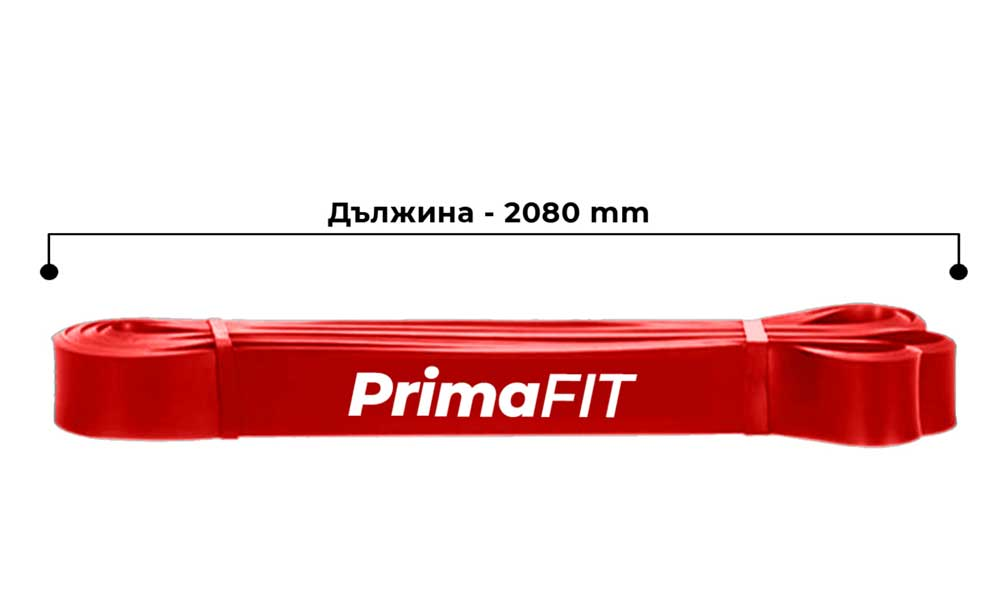 Ластици за фитнес PrimaFIT дължина на ластици фитнес за 1