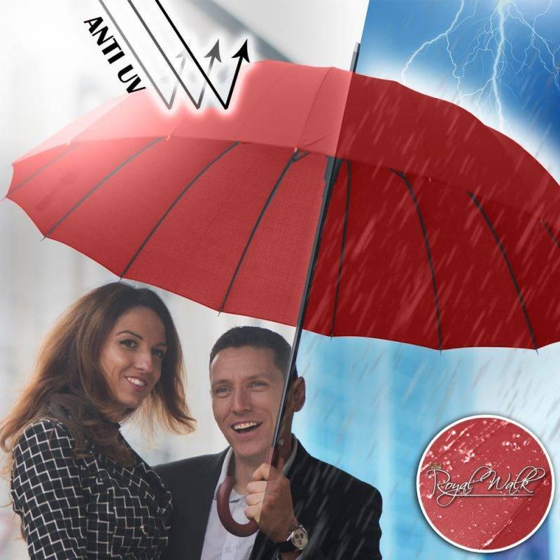 голям дамски чадър за дъжд Royal Walk 3