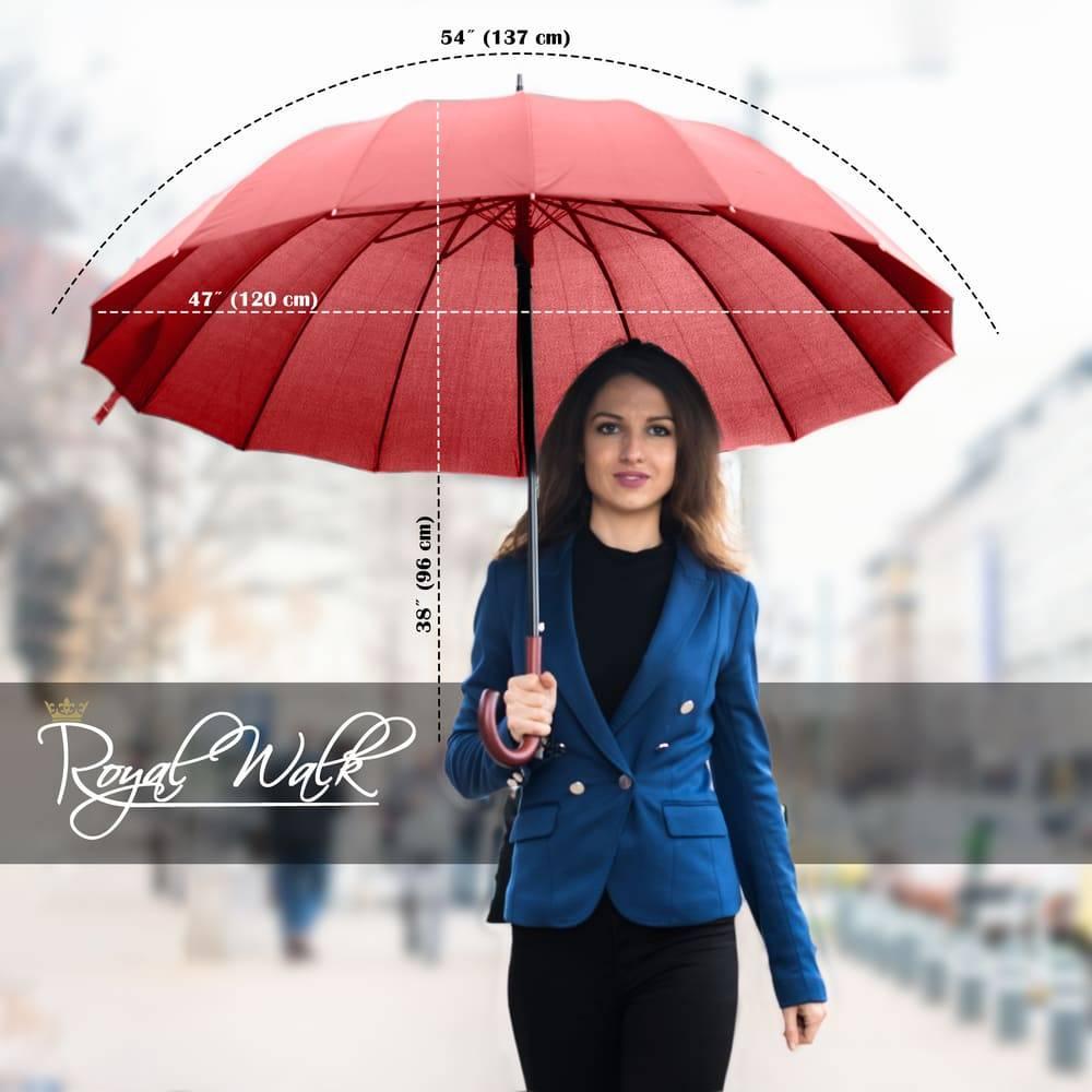 дамски чадър за дъжд луксозен