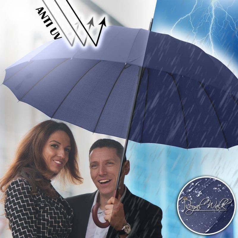 голям мъжки чадър за дъжд Royal Walk 3